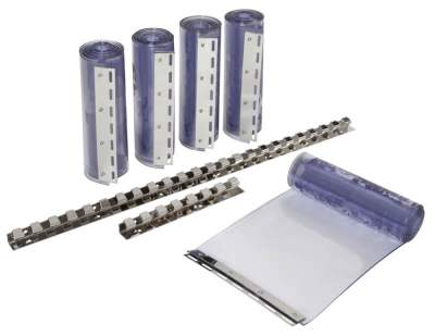 KERBL PVC-Streifenvorhang-Set