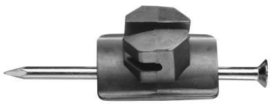 Nagelisolator, mit 10 cm Nagel (50 St./Pack)