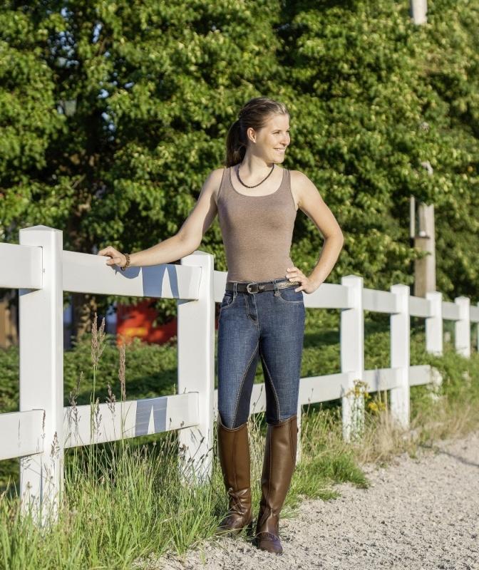 USG Damen Jeans Reithose Mira, Vollbesatz