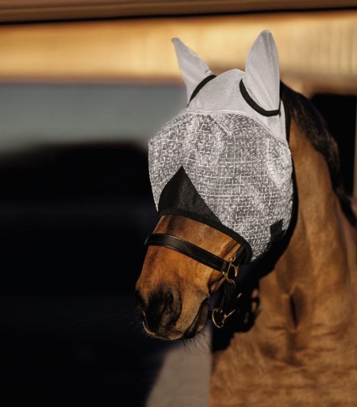 KERBL Fliegenmaske mit Ohrenschutz