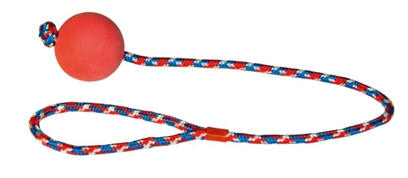 KERBL Ball am Seil, Ø 6 cm