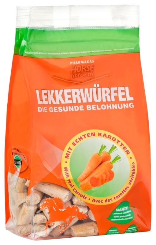 HORSE FITFORM Karottensnack, 1 kg