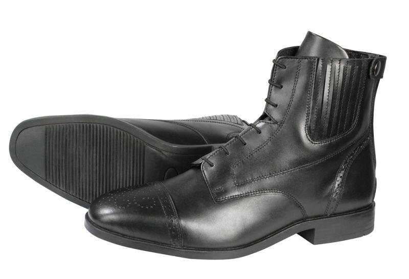 PFIFF Lederstiefelette Cardiff, Schuhgrösse 39, schwarz
