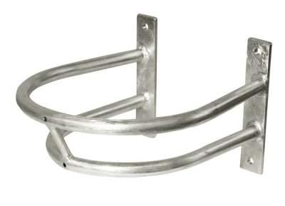 KERBL Schutzbügel für Tränkebecken, Größe 2, Tiefe: 33 cm, Breite: 28,5 cm Höhe inkl. Montageplatte