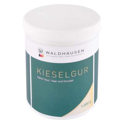 WALDHAUSEN Kieselgur, 1 kg: Stärkt Haut, Haar und Knorpel, 1000 g