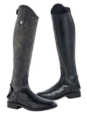 BUSSE Reitstiefel BONDY, schwarz(grau)