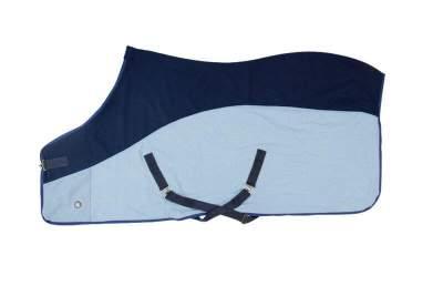 PFIFF Sommerdecke Widi, Rückenlänge 115 cm, blau