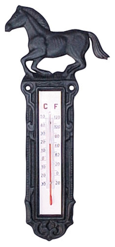 HKM Thermometer aus Gusseisen, groß