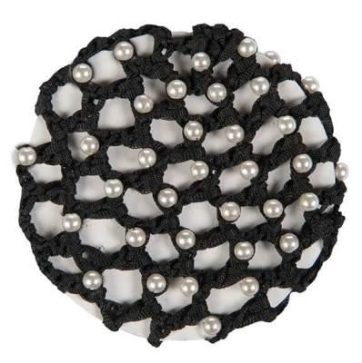 HKM Haarnetz mit synthtischen Perlen