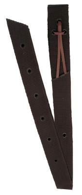 BUSSE Tie-Strap NYLON, 1 3/4 x 72 inch (4,4 x 180 cm), dunkelbraun