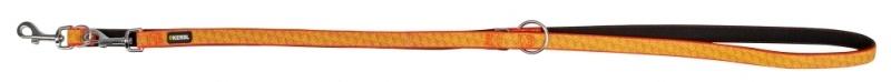 KERBL Führleine reflektierend, Länge 200 cm, Breite 20 mm, schwarz/orange
