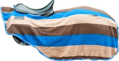 HKM Nieren-Abschwitzdecke -Colour stripes- mit Klett
