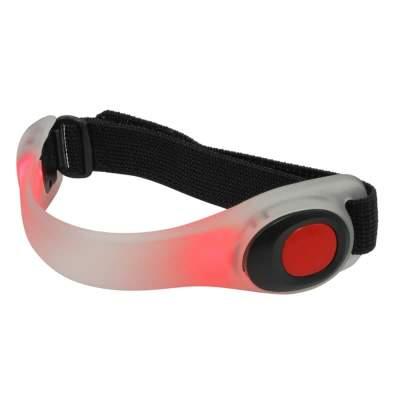 WALDHAUSEN LED Reflektor Armband, rot