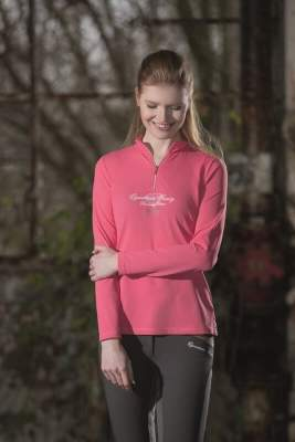 HKM Funktionsshirt -Diamonds Pink Star-