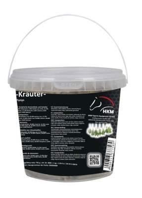 HKM Pferde-Leckerli -Kräuter- im Eimerchen 750 g, 750 g
