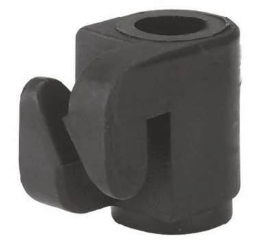 Nagelisolator zum Einhängen für Litze oder Draht mit 7 cm Nagel, (100 St./Pack)