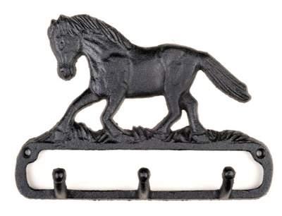 HKM Garderobe mit laufendem Pferd