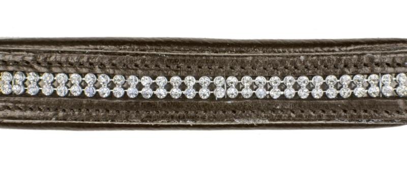 HKM Lederhalfter -Diamond-