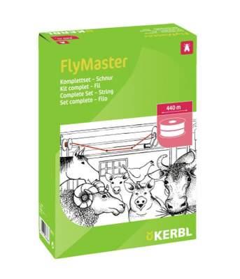 KERBL Stallfliegenfänger FlyMaster Schnur, Schnur 440 m, Komplett-Set